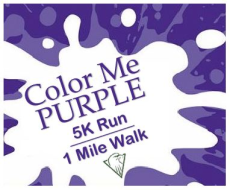 Color Me Purple 5K Run / 1 Mile Walk