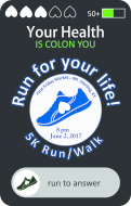 """Run For Your Life: Your Health is """"Colon"""" You"""