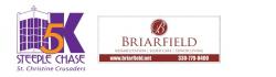 St. Christine Crusaders - Briarfield Steeple Chase 5K Run