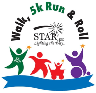 STAR Walk, 5k Run & Roll----------------                           TO BENEFIT OUR NEIGHBORS WITH DISABILITIES
