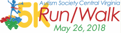 RRRC Volunteers for Autism Society Central Virginia 5K (Club Contract Race)