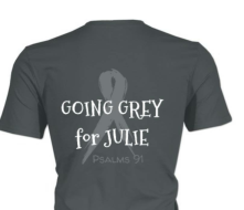 GO GRAY IN MAY 5K FOR BRAIN CANCER RESEARCH & AWARENESS