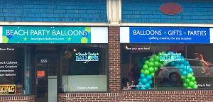 Beach Party Balloons
