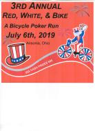 3rd Annual Red, White, & Bike Poker Run