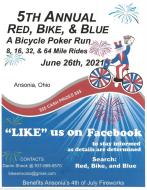 5th Annual Red, Bike, & Blue Poker Run