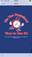 Tic Toc Christian Preschool Time to Run 5K