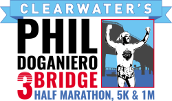 Phil Doganiero 3 Bridge Half Marathon/5K/1 Mile Fun Run-Walk