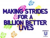 Making Strides for a Billion Better Lives