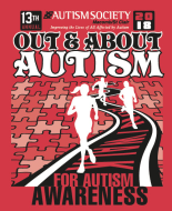 "13th Annual ""Out & About Autism"" 5k run/5k walk"