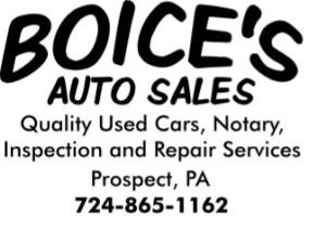 Boice's Auto Sales