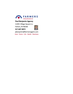 Farmers Insurance - Paul Benjamin