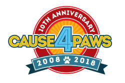Quincy Animal Shelter's Cause 4 Paws