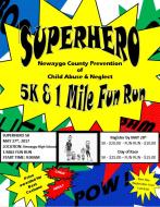 5K Super Hero Run and 1 Mile Fun Run