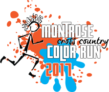 Montrose Cross Country Color Run 2017