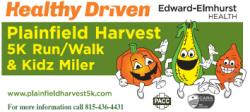 Plainfield Harvest 5k & Kidz Miler