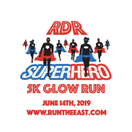 RDR Superhero 5K Glow Run 2019