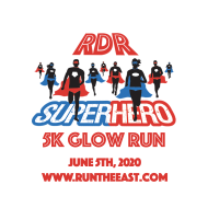 RDR Superhero 5K Glow Run 2020- Postponed