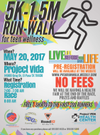 5k Run/Walk for Teen Wellness