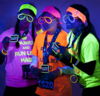 Relay For Life Light Up The NIght Gleaux Run