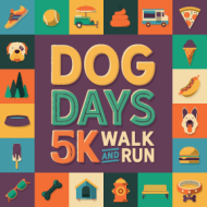 Dog Days 5k Run or Walk & 1-Mile Walk