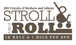 Stroll & Roll 5K & 1 Mile Fun Run