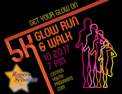 6TH Annual Rogers Scholars 5K GLOW Run/Walk