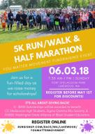 You Matter Movement 5K & Half Marathon Run/Walk