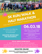You Matter Movement 5K & Half Marathon Run/Walk