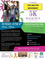 You Matter Movement 5k Walk/ Run