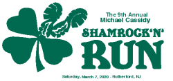 9th Annual Michael Cassidy Shamrock 'N' Run 5k