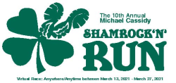 10th Annual Michael Cassidy Shamrock 'N' Run Virtual 5k
