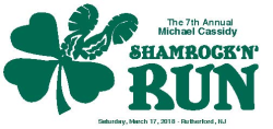 7th Annual Michael Cassidy Shamrock 'N' Run 5k