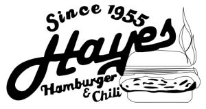 Hayes Hamburgers and Chili