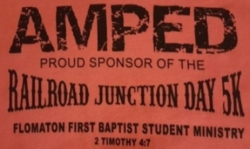 AMPED / Railroad Junction Day 5K