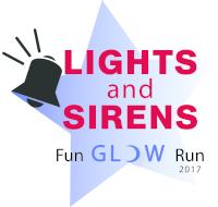 Lights and Sirens Fun Glow Run