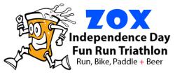 Zox 3rd Annual Independence Day Fun Run Triathlon