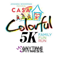 Amanda Fussell Woodman CASA Colorful 5K