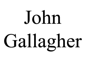 John Gallagher