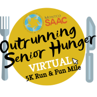 Montco SAAC's Outrunning Senior Hunger VIRTUAL 5K Run / Fun Mile
