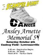 Scamper Against Cancer 5k