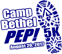 Camp Bethel PEP! 5K Trail Run
