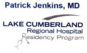 Patrick Jenkins M.D..