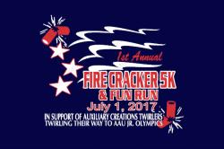 Auxiliary Creations Firecraker 5k Run/Wak & Fun Run