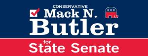 Mack N Butler for Senate