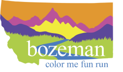 Bozeman Color Me Fun Run