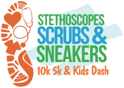 Stethoscopes Scrubs & Sneakers 10k 5k & Kids Dash