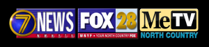 WWNY TV7, FOX 28, North Country ME-TV
