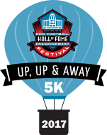 Pro Football Hall of Fame Enshrinement Festival UP, UP, & AWAY 5K