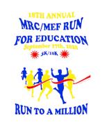 Martinez Run for Education