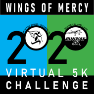 2020 Wings of Mercy Virtual 5K Challenge - RaceJoy Available September 12th thru 20th, 2020